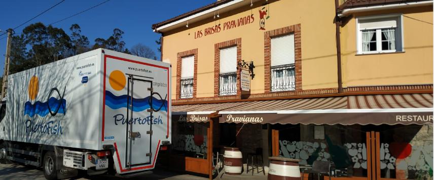 Restaurante Las Brisas Pravianas