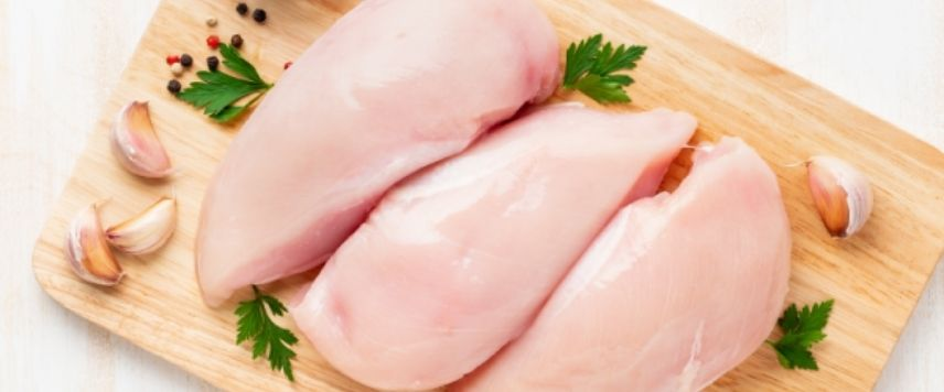 Pechuga de pollo bandeja